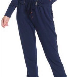 NWT Free People Movement Game Plan Joggers—Navy